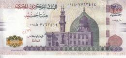 EGYPT 200 POUNDS EGP 2017 P-73b SIG/ T.AMER #24 UNC */* - Egypt