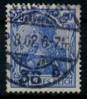 D-REICH GERMANIA Nr 72a Gestempelt X726DC6 - Duitsland