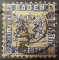 BADEN 1862 - Canceled - Mi 14 - 6k - Baden