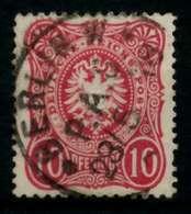 D-REICH KRONE ADLER Nr 33a Gestempelt X727126 - Duitsland
