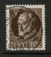 BAVARIA  Scott # 95 VF USED (Stamp Scan # 541) - Bavaria