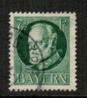 BAVARIA  Scott # 97 VF USED (Stamp Scan # 541) - Bavaria