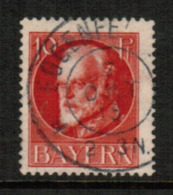 BAVARIA  Scott # 98 VF USED (Stamp Scan # 541) - Bavaria