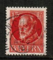 BAVARIA  Scott # 100 VF USED (Stamp Scan # 541) - Bavaria