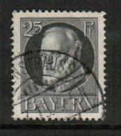 BAVARIA  Scott # 103 VF USED (Stamp Scan # 541) - Bavaria
