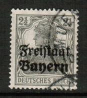 BAVARIA  Scott # 176 VF USED (Stamp Scan # 541) - Bavaria