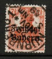 BAVARIA  Scott # 179 VF USED (Stamp Scan # 541) - Bavaria