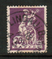 BAVARIA  Scott # 241 VF USED (Stamp Scan # 541) - Bavaria