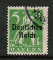 BAVARIA  Scott # 256 VF USED (Stamp Scan # 541) - Bavaria