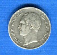 Belgique  5  Fr  1850 - 1831-1865: Léopold I