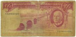 Angola - 100 Escudos - 10.06.1962 - Pick 94 - Série 5 Oz - Américo Tomás - PORTUGAL - Angola