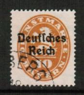 BAVARIA  Scott # O 53 VF USED (Stamp Scan # 541) - Bavaria