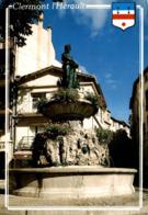 Clermont L'herault La Fontaine 1990   CPM Ou CPSM - Clermont L'Hérault