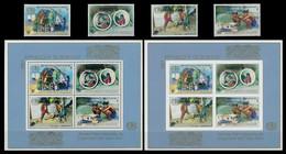 Burundi - 959/962 + BL124/124A - Année Internationale Du Logement Des Sans Abris - 1988 - MNH - 1980-89: Neufs