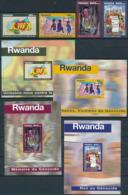 Rwanda - 1411/1414 + BL111/114 - Génocide - 1999 - MNH - Rwanda