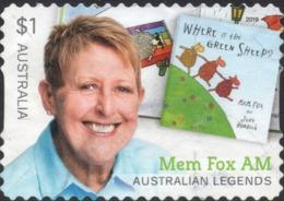 2019 AUSTRALIA LEGEND - Mem Fox AM VERY FINE POSTALLY USED $1 BOOKLET Stamp - 2010-... Elizabeth II