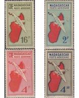 Ref. 615102 * MNH * - MADAGASCAR. 1943. AVION E ISLA - Ongebruikt