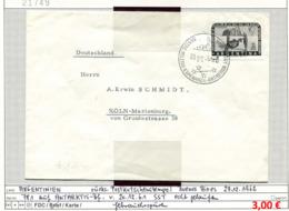 Argentinien - Argentina - Michel  781 Auf Antarktis-Brief / Sur Lettre Antarctique - Antartica - Selten / Rare - Argentinien