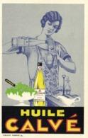 Illustrateur HUILE  CALVE RV  Huile Calvé Prix - Reclame