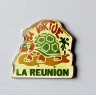 Pin's Tortue La Réunion  - ANIMAUX - Dieren