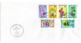 YEAR INTERN. OF CHILD - TOGO - Mi. Nr. 1360/1365  - FDC - (6532-26.) - Togo (1960-...)