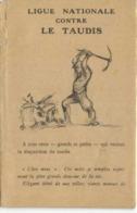 POULBOT Pochette LIGIE NATIONALE CONTRE LES TAUDIS  Pochette + 5 Cartes RV - Poulbot, F.