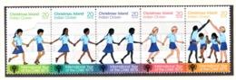 YEAR INTERN. OF CHILD - CHRISTMAS ISLAND - Mi. Nr. 110/114  - NH - (6532-30.) - Christmas Island