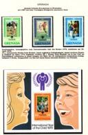 YEAR INTERN. OF CHILD - GRENADA - Mi. Nr. 963/965 + BF 82  - NH - (6532-30.) - Grenada (1974-...)