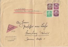 Nachnahmebrief Aus FRANKFURT 22.7.36 Nach Cronberg I. Taunus / War Gefaltet - Germany