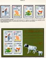 YEAR INTERN. OF CHILD - SOMALIA - Mi. Nr. 278/281 + BF 8 - NH - (6532-31.) - Somalia (1960-...)