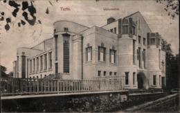 ! Alte Ansichtskarte,  Tartu, Wanemuine, Architektur, Architecture, Estland, Eesti, 1916 - Estonie