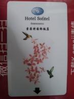 China Hotel Key, Hotel Sofitel,  Zhengzhou (1pcs) - China