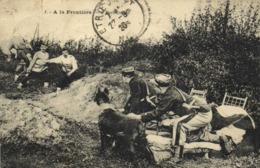 A La Frontière L'Embuscade Douaniers RV - Douane