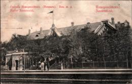! Alte Ansichtskarte, Bahnhof, La Gare, Dworzec, Railway Station, Novorossisk, Rußland, Russia, Russie, 1912 - Rusland