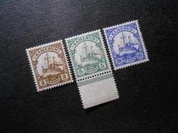 D.R.Mi 20**MNH/ 21 L**MNH/ 23 Llc*MLH - Deutsche Kolonien ( Kamerun ) 1905/1918 - Mi 9,60 € - Kolonie: Kamerun