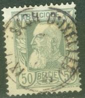 Belgique  78 Sans Bandelette Obli  Ixelles ( Ch. D'Ixelles ) - 1905 Breiter Bart