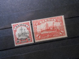 D.R.13**MNH/ 16*MLH - Deutsche Kolonien (Samoa)  1900   Mi 8,00 € - Kolonie: Samoa