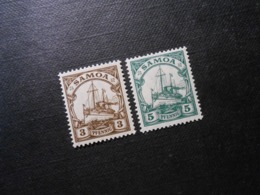 D.R.20/ 21**MNH - Deutsche Kolonien (Samoa)  1919 - Mi 6,50 € - Colony: Samoa