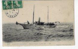 40 - MIMIZAN Les BAINS - Bateau à Vapeur En Pleine Mer (X46) - Mimizan