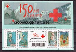 France 4910 4914  F La Croix Rouge 150 Ans Dunant ...neuf TB ** MNH Sin Charnela Prix De La Poste 5.05 - Croce Rossa