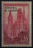 Timbre De Service N° 16 - X X - ( F 618 ) - ( Cathédrale De Rouen ) - Service