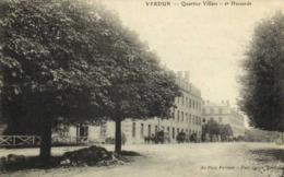Militaria Quartier Villars 2e Hussards RV Tresor Et Postes 149 - Verdun