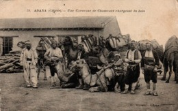 Adana Cilicie - Une Caravane De Chameaux Chargeant Du Bois - N° 38 - édit Mizrahi - !! Légèrement Froissée - Turquie