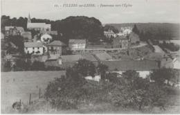 VILLERS-SUR-LESSE - PANORAMA VERS L'EGLISE - VERS 1900 - Belgique