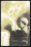 Homme - Jeune Homme Rêvant à Sa Fiancée - Circulé Sous Enveloppe - Circulated Under Cover - Gelaufen U. Umschlag - 1917. - Männer