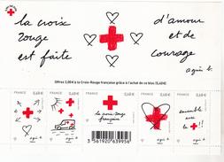 France 5001 5005 F Croix Rouge 2015 Neuf TB ** MNH Sin Charnela Prix De La Poste  5.4 - Frankreich