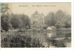 Carte Postale Ancienne Carizay - Château De La Roche - Cerizay