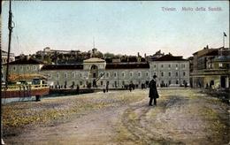 Cp Triest Trieste Friuli Venezia Giulia, Molo Della Sanita - Italien