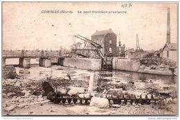 59 COMINES - Le Pont Frontière Provisoire - France