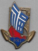 Bataillon De Marche Indochinois - Insigne émaillé Drago Béranger 691 - Armée De Terre
